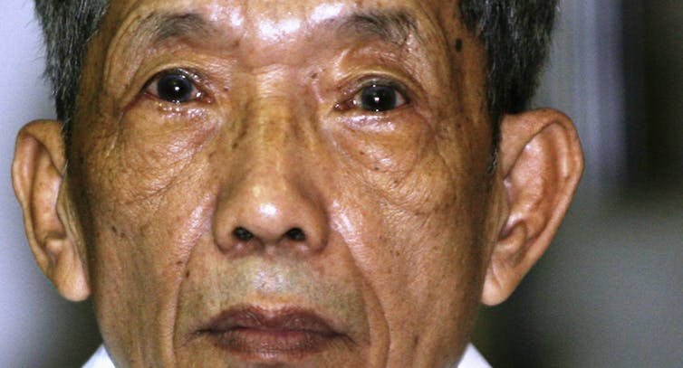 Former Khmer Rouge prison commander Kaing Guek Eav, also know as 'Duch.'