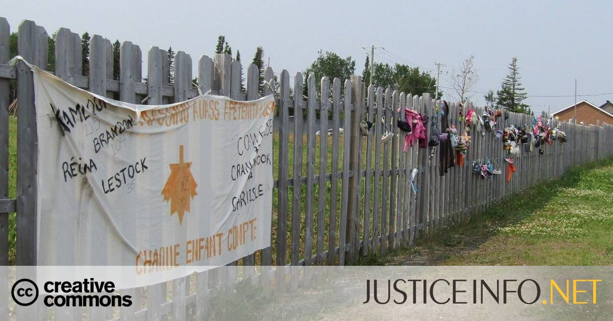 In Canada, tombs of indigenous children shake national conscience Canada English provioire