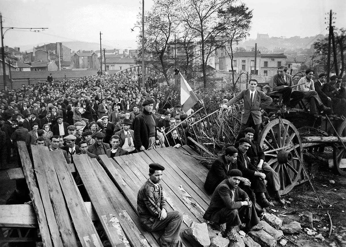 Montceau-les-Mines strikes in 1948