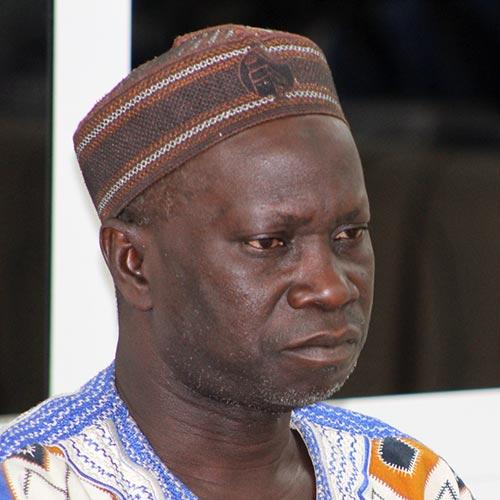 Ebou Jarju testifies against Yahya Jammeh before the TRRC in Gambia.