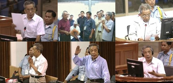 Kaing Guek Eav, alias Duch, offers apologies before the Extraordinary Chambers in the Courts of Cambodia