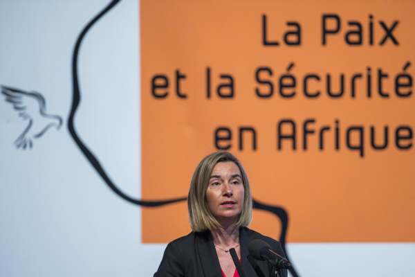 Euro-MPs have written to EU foreign affairs chief Federica Mogherini, seen here in Dakar in 2016