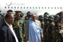 President al-Bashir of Sudan clocked in thousands of miles across the world, despite being a wanted war criminal