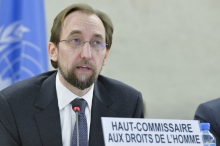 UN rights chief urges Security Council veto limit over Syria
