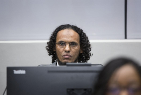 Malian Jihadist Al Mahdi before the ICC on September 27, 2016