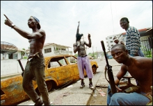 """Liberian found guilty of war crimes-linked charges in """"historic"""" US case"""