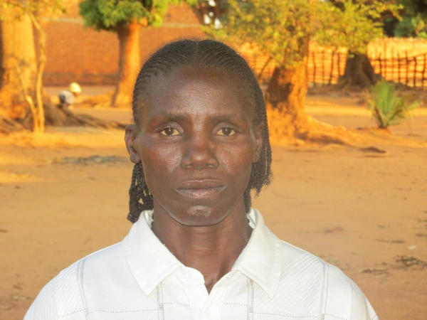 Martine Bangue, former Seleka fighter in the CAR who wants to be a mason