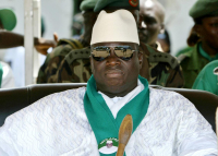 Smiling and generous outside, as soon as he returned to the State House Yahya Jammeh