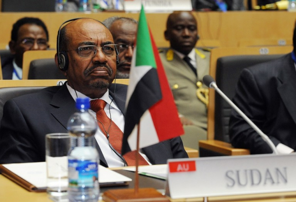 President Omar al-Bashir attending an African Union meeting in 2013 in Addis Abeba