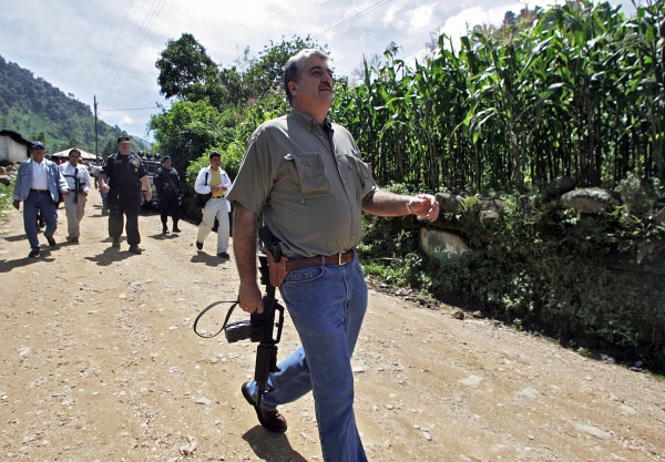 Carlos Vielmann, former Interior Minister of Guatemala accused of 8 assassinations