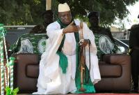 De nouvelles preuves ont été présentées devant la Commission vérité qui démontrent que le traitement anti-sida de Jammeh était une « farce » mortelle. © Seyllou / AFP