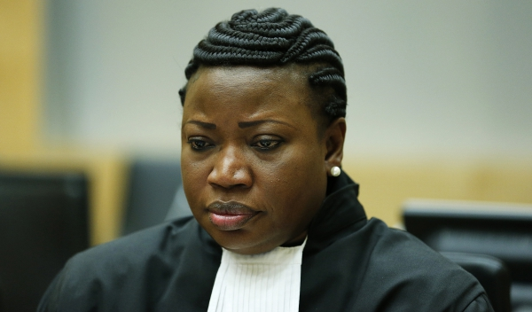 ICC Prosecutor Fatou Bensounda at the trial of Thomas Lubanga