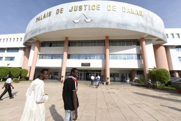 The AU backed  CAE in Dakar's Palais de Justice