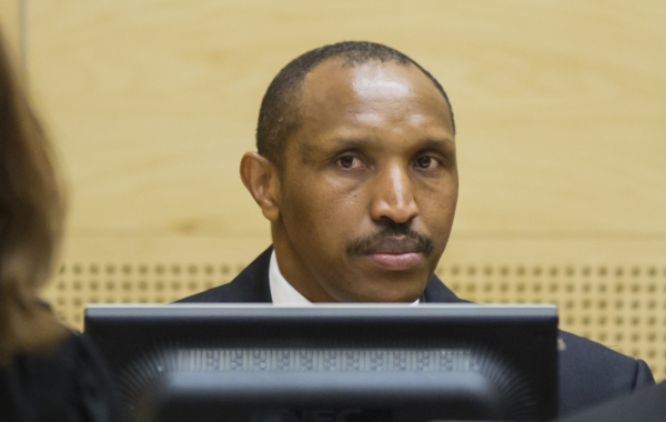 Ntaganda before the ICC in 2015. He is charged with 18 counts of war crimes and crimes against humanity in eastern DRC in 2002 and 2003.