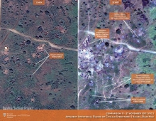 Can satellite imagery still prove war crimes?