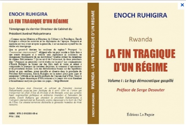 Cover of book by Enoch Ruhigira
