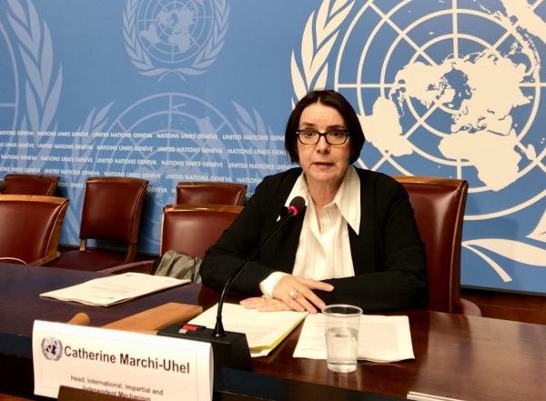 Catherine Marchi-Uhel published her first report this week on Syria
