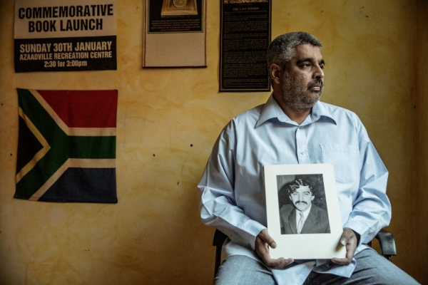 Imtiaz Cajee, Ahmed Timol's nephew, is unequivocal about the events of October 1971 : 'He was gruesomely tortured' -