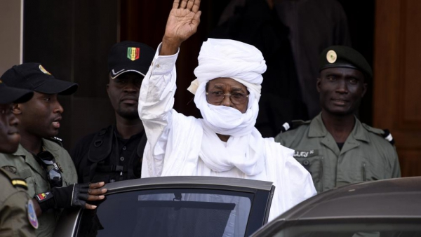 Habré Remains Mute as his Trial Restarts