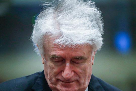 Bosnian Serb leader Karadzic's sentence increased to life
