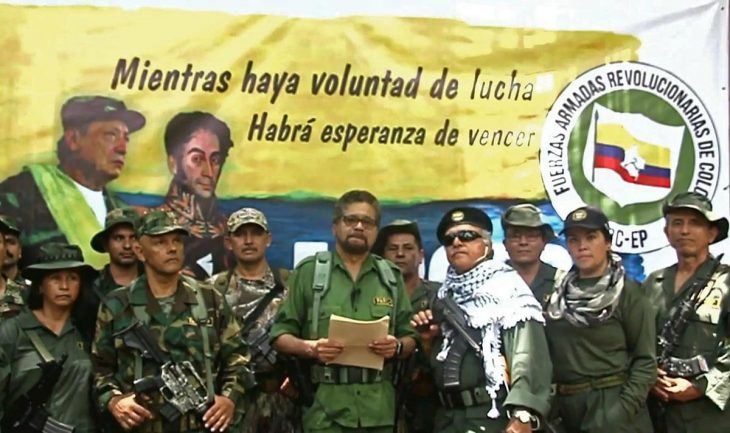 Colombian transition gets confusing with a disarmed FARC and an armed one