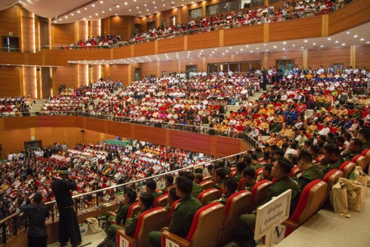 Controversy, progress at Myanmar's third Panglong peace conference