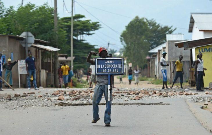 Burundi : «le danger de guerre civile»
