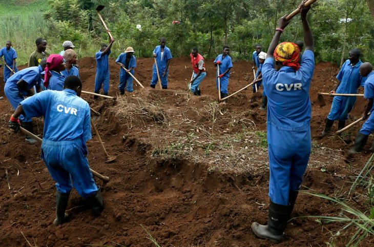 Burundi Truth Commission exhumations caught up in elections