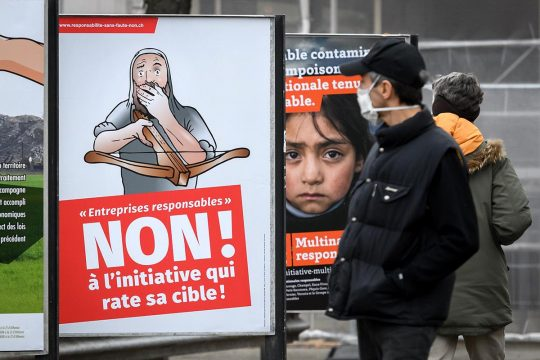 Corporate responsibility: Switzerland says no but the UN must say yes