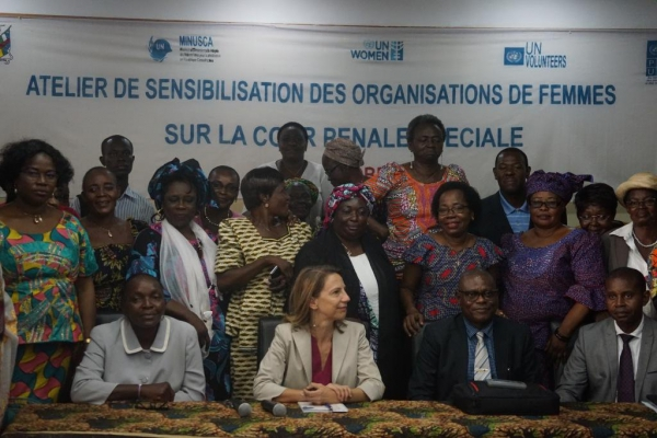 """Special Central African Court must be operational for """"long-term stability"""""""