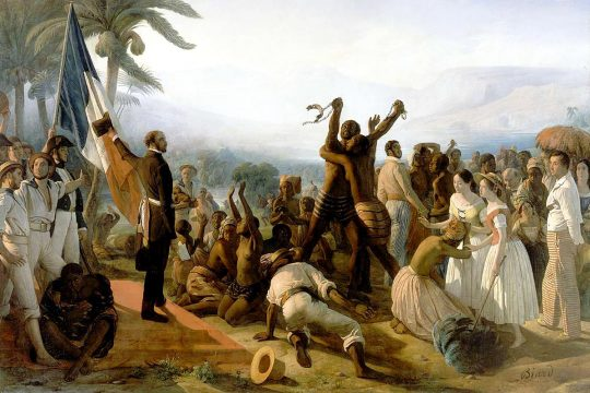 The abolition of slavery in the French colonies