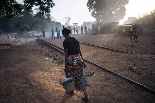 Une réfugiée centrafricaine au Congo