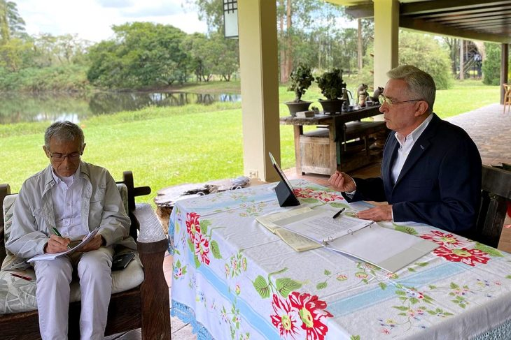 Colombia's TRC sits down with five presidents, including critical Uribe