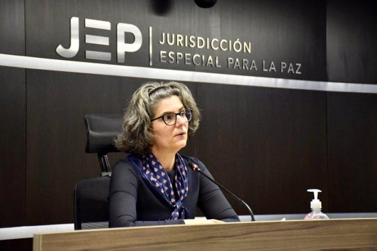 Julieta Lemaitre (JEP - Jurisdiccion-Especial para la Paz), in Colombia