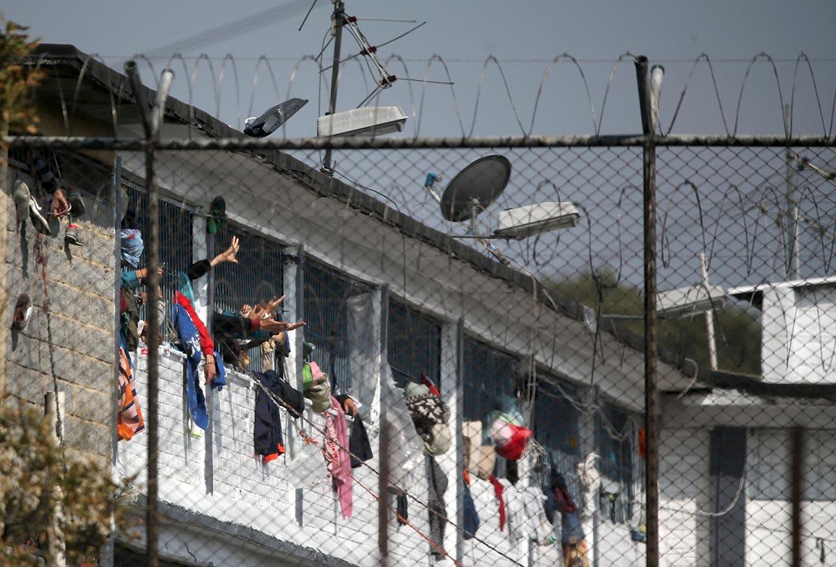 La Modelo Prison in Bogota, Colombia