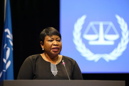 Fatou Bensouda at the Assembly of