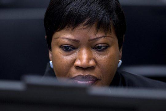 Fatou Bensouda at the International Criminal Court (ICC-CPI)