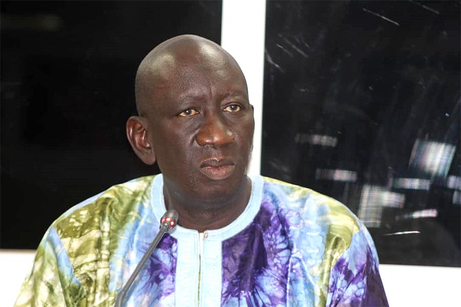 Malamin Ceesay testifies before the TRRC in Gambia