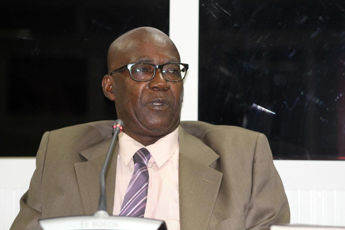 Pa Amady Jallow testifies before the TRRC in Gambia