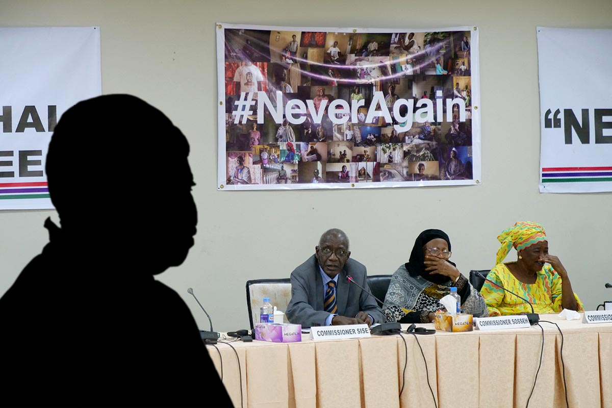 The Gambia Truth commission (TRRC) in the shadow of Fatou Bensouda
