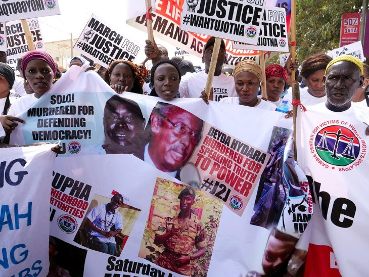 Gambie : la Commission vérité met un prix sur les réparations