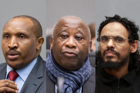 Ntaganda + Gbagbo + Al Mahdi (ICC - CPI)