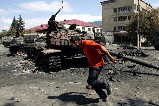 War in South Ossetia (Georgia)
