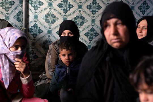 Iraq: A family affiliated to Daesh is back in their village