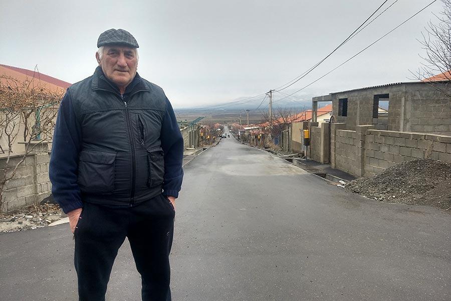 Levan, Géorgien vivant dans le camp de Shavshvebi