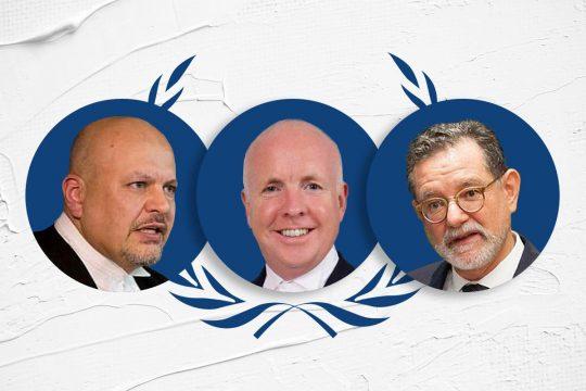 ICC prosecutor elections: 3 finalists (Karim Khan, Fergal Gaynor and Carlos Castresana)