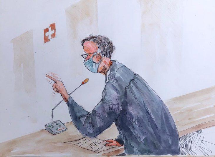 En Suisse, les victimes accablent le Libérien Alieu Kosiah