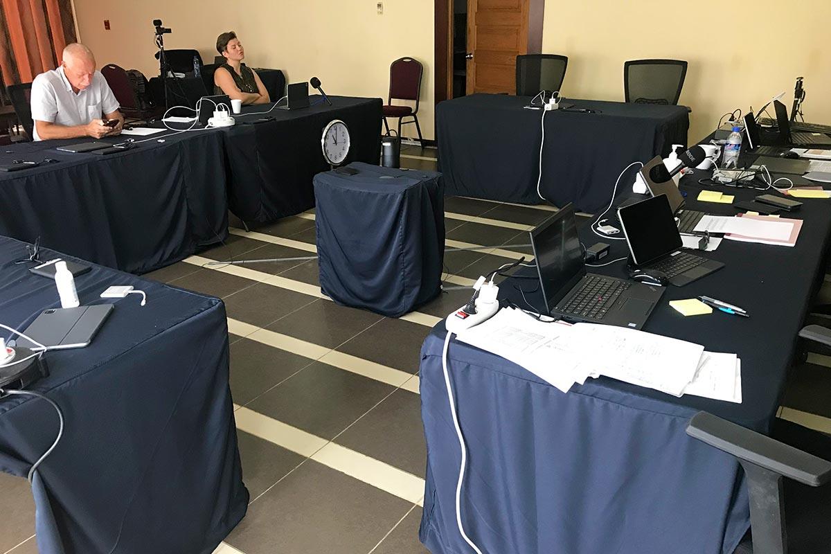 Massaquoi trial: The courtroom in Monrovia