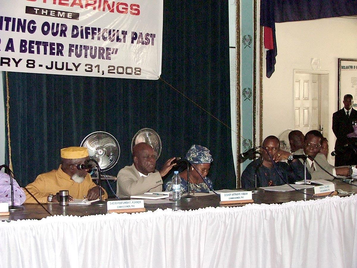 Commission vérité au Liberia