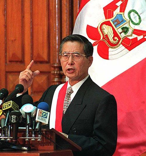 Alberto Fujimori (Peru)